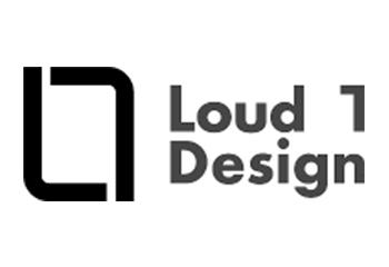 Loud 1 Design logo